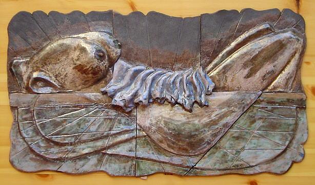 Mural cer mico sensualidad - Murales de ceramica artistica ...