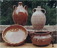 Vasijas de terracota o alfareria