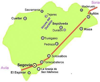 Segovia Ruta De Los Pueblos Serranos